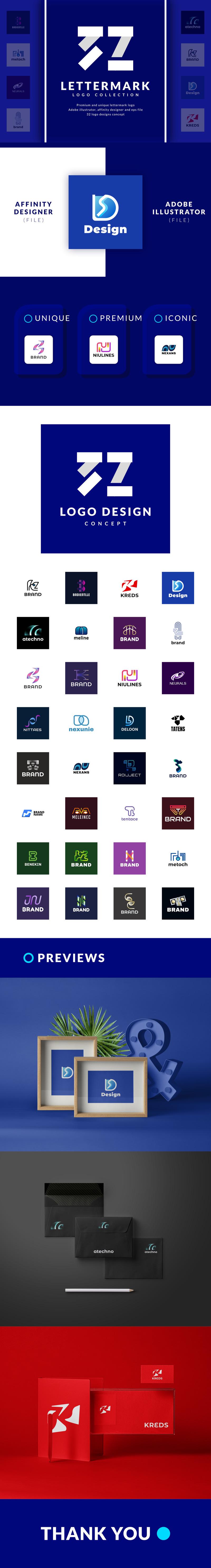 32 Lettermark Logo Collection - 2315524 1603317249702 presentation