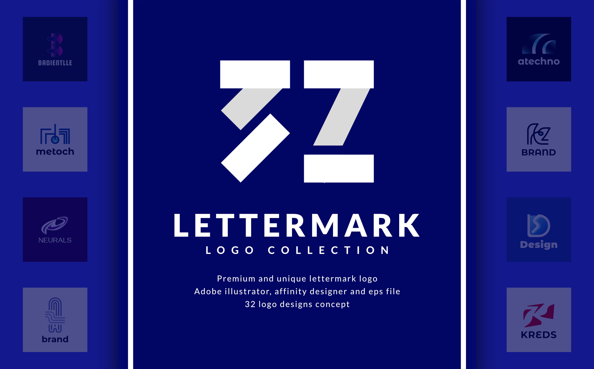 32 Lettermark Logo Collection - 2315524 1603317267218 p1