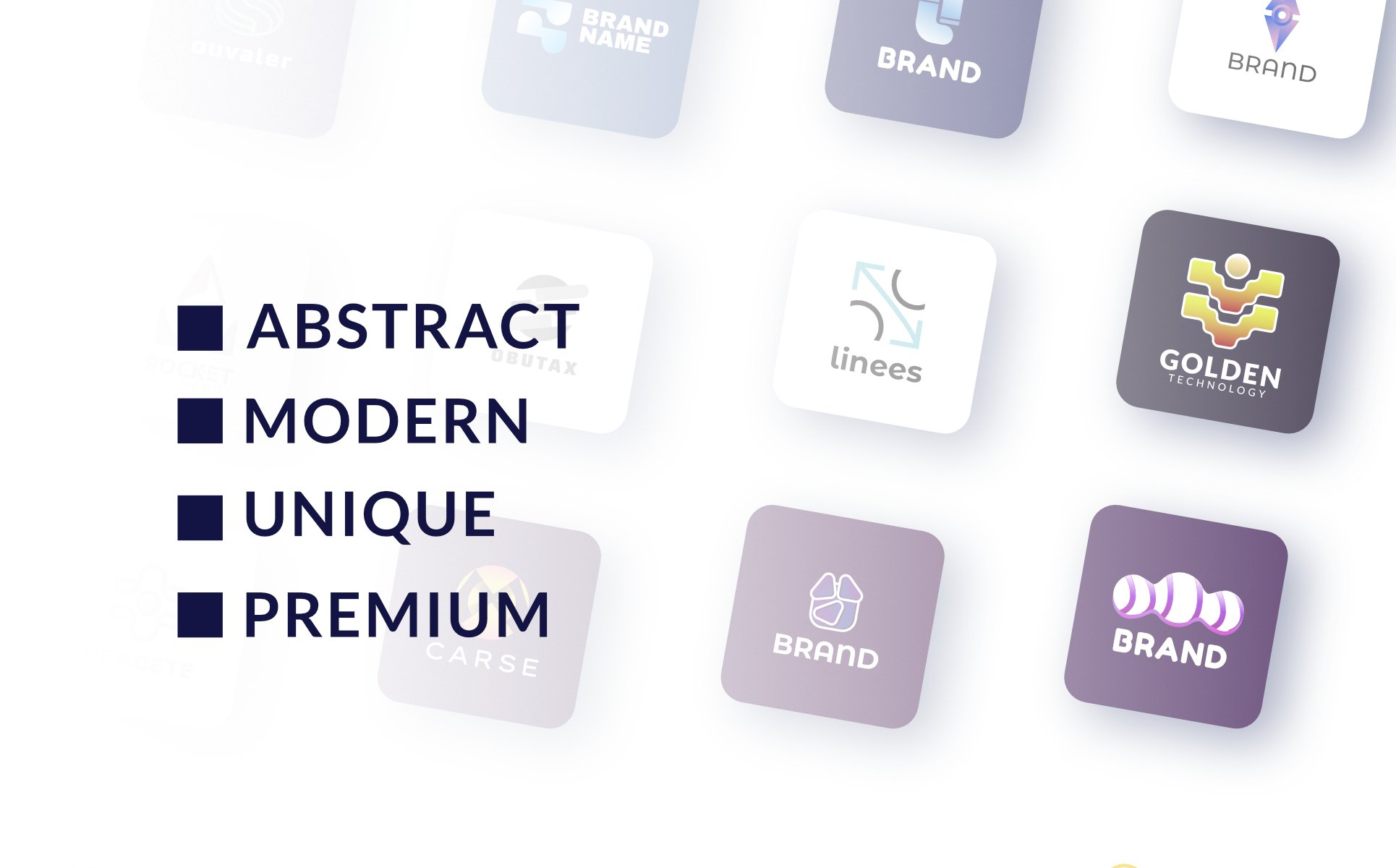 18 Modern & Abstract - Collection Logo Template - 2315524 1603317551858 p4