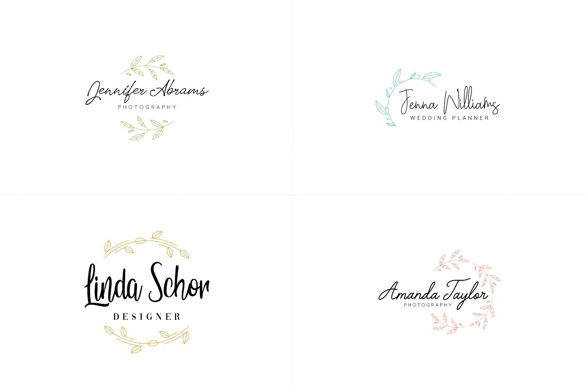 20 Elegance Logo Design Bundle - 3 1 7