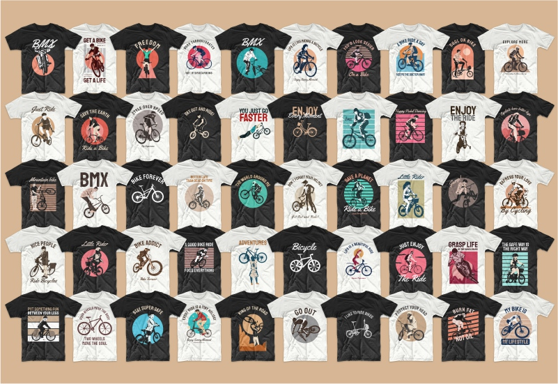 900+ Trending T-shirt Designs Mega Bundle - 3 1