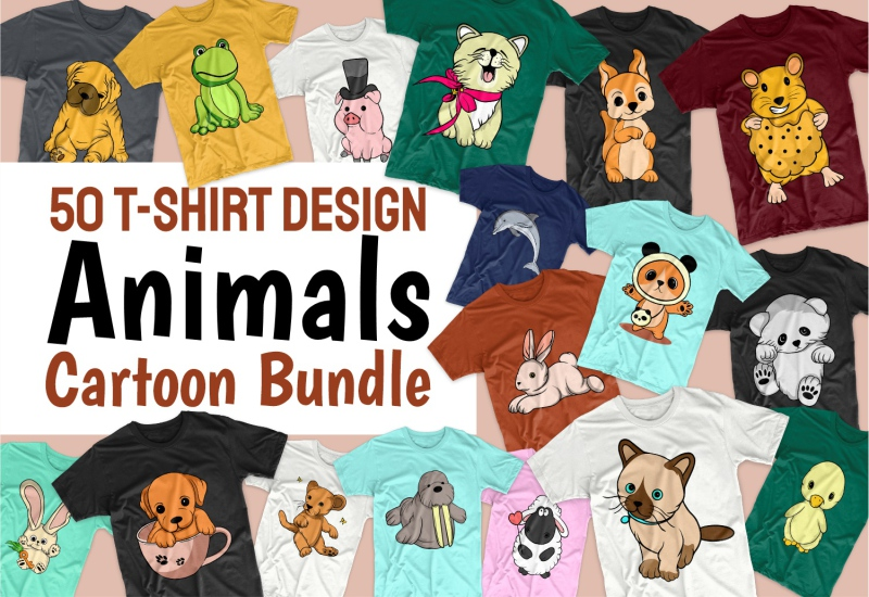 900+ Trending T-shirt Designs Mega Bundle - 33