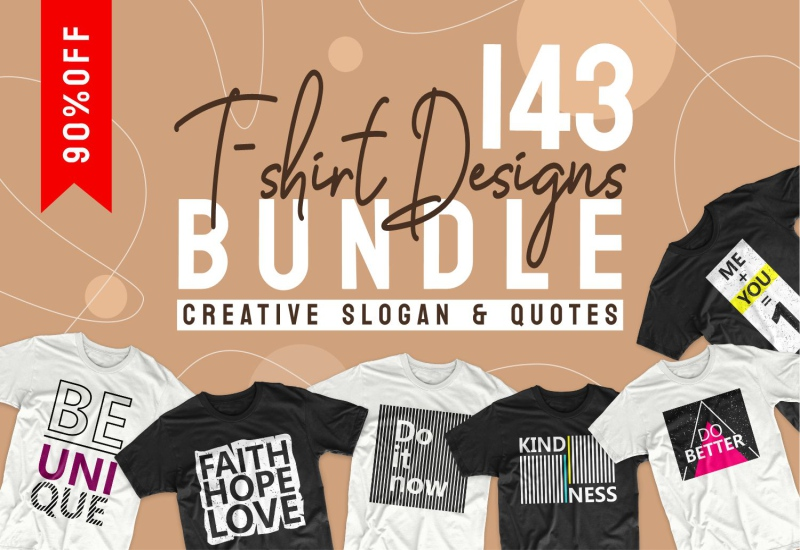 900+ Trending T-shirt Designs Mega Bundle - 35