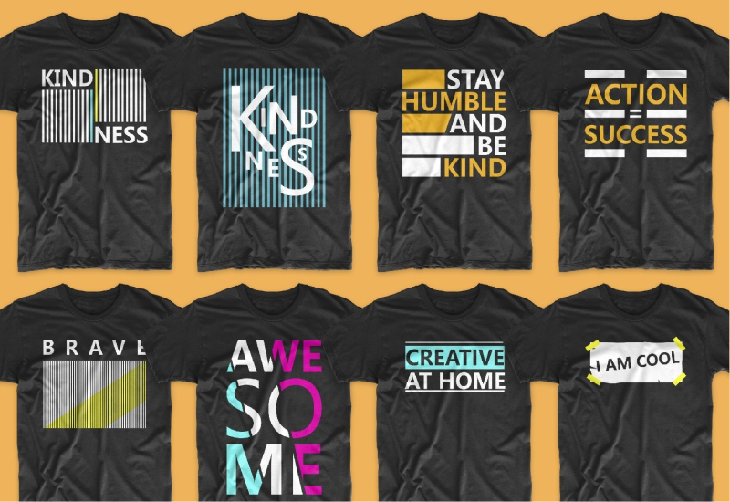900+ Trending T-shirt Designs Mega Bundle - 37