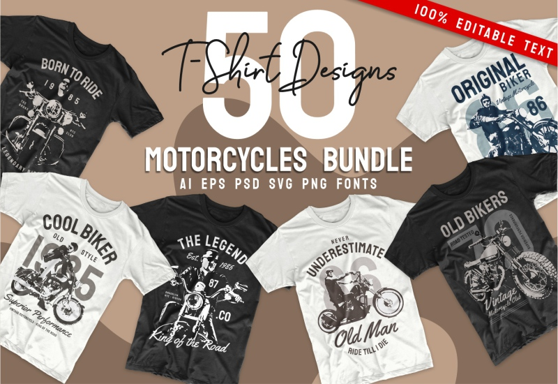 900+ Trending T-shirt Designs Mega Bundle - 4 1