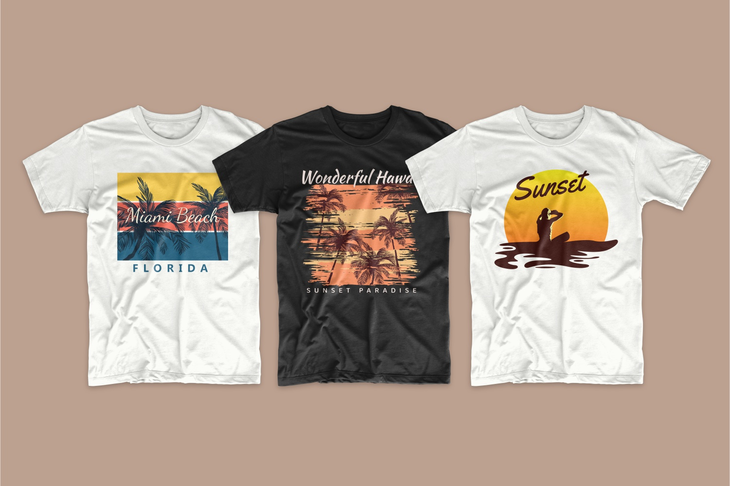 50 Surfing T-shirt Designs - 4 6