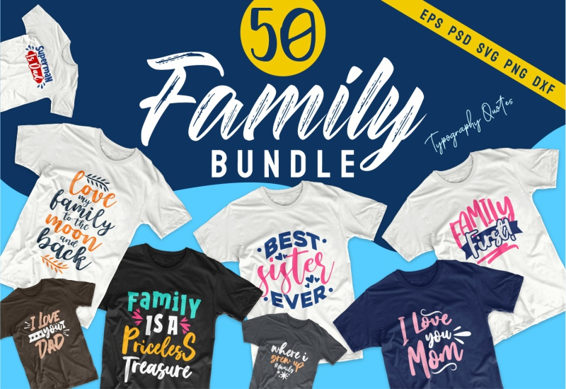 900+ Trending T-shirt Designs Mega Bundle - 42