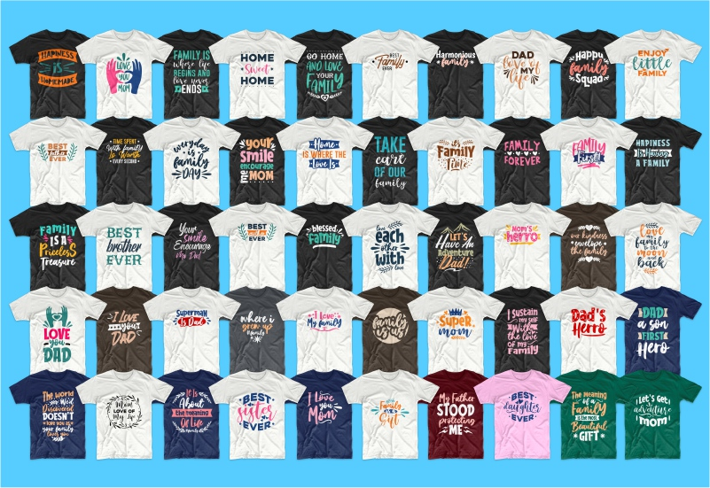 900+ Trending T-shirt Designs Mega Bundle - 44