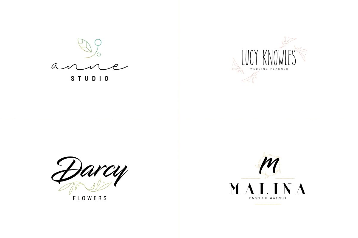 20 Elegance Logo Design Bundle - 5 1 7