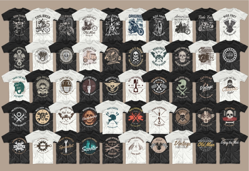 900+ Trending T-shirt Designs Mega Bundle - 6 1