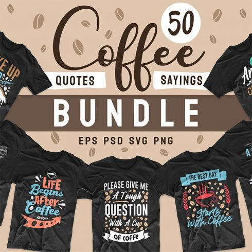 Coffee is My Vaccine T-Shirt Designs