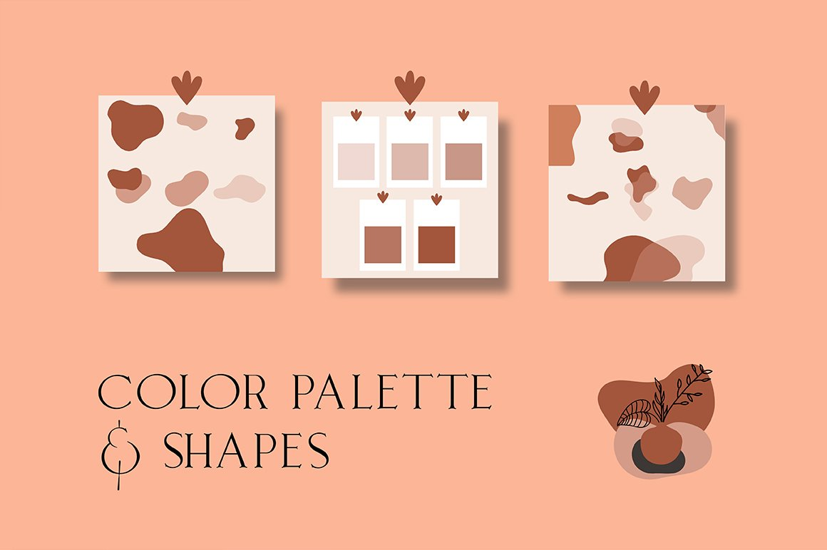 Terracotta Instagram Templates (With 40+ Illustrations & Decorative) - 9 1 1
