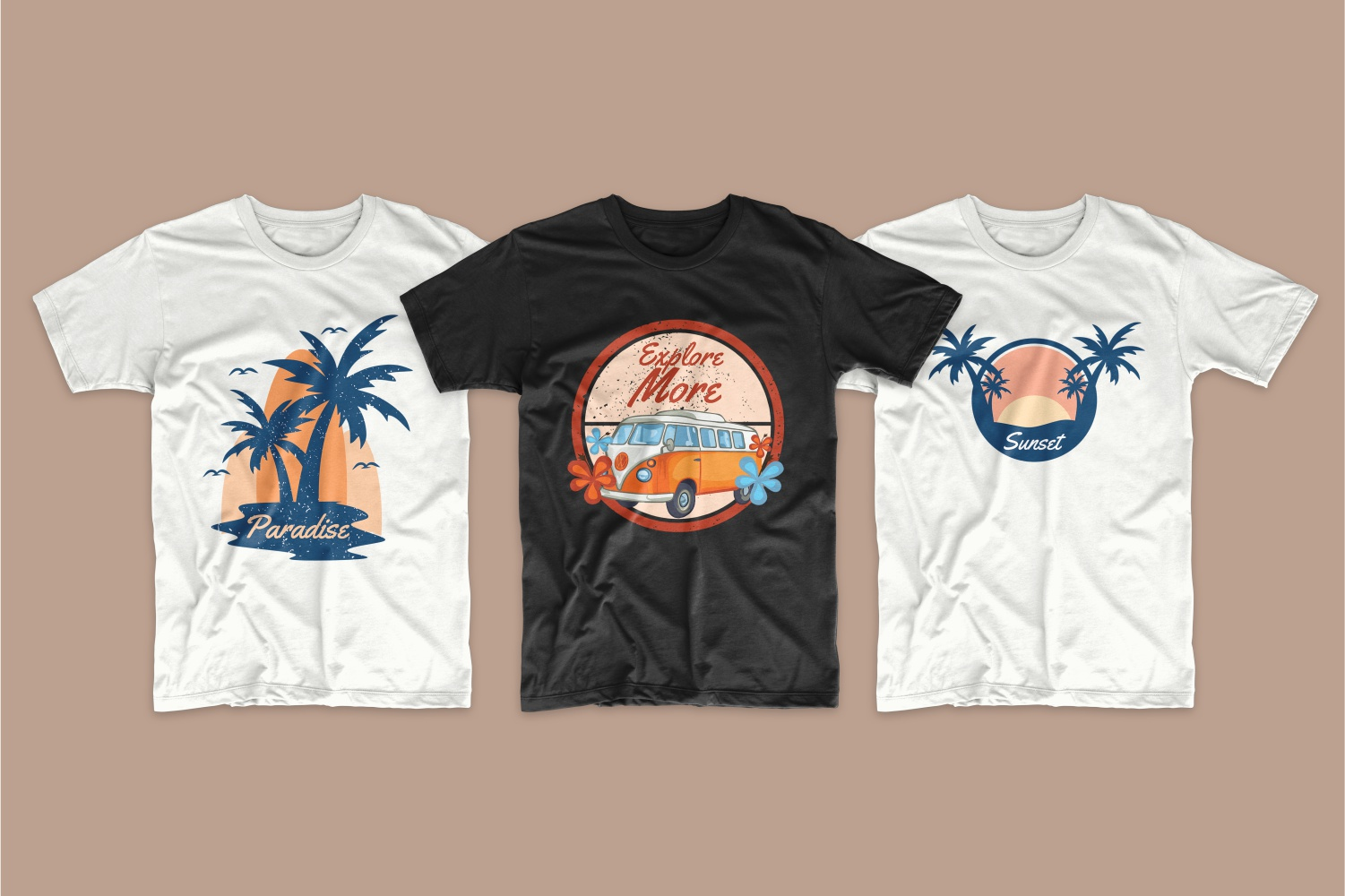50 Surfing T-shirt Designs - 9 6