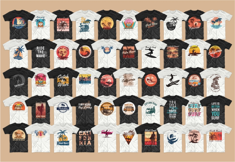 900+ Trending T-shirt Designs Mega Bundle - 9