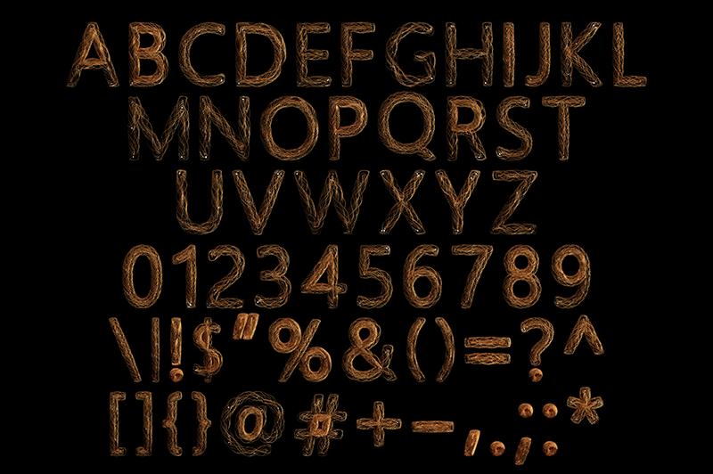 21 Color Fonts: FaeryDesign & PandoraDreams Render Fonts - Aura 02