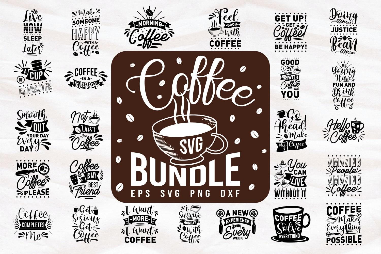 Coffee quotes bundle.Quote Designs.