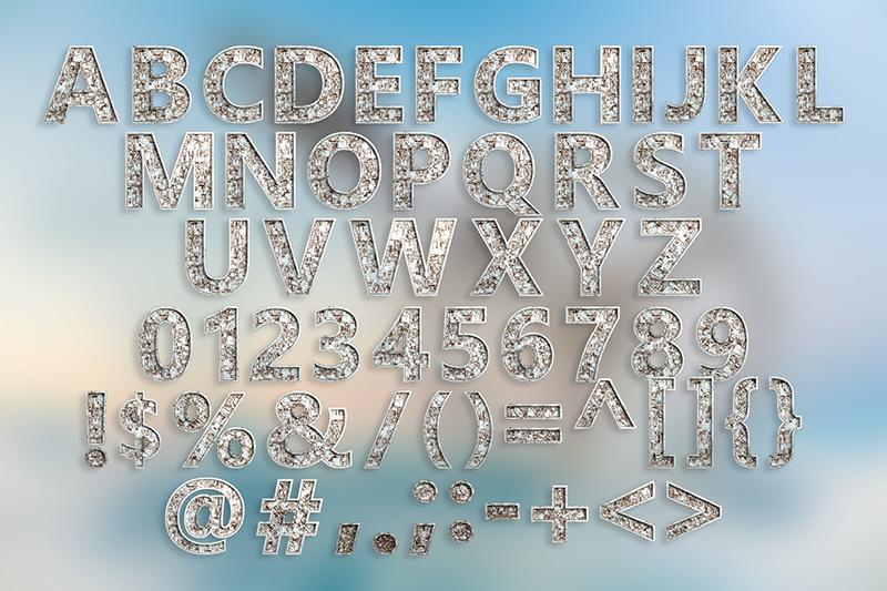 21 Color Fonts: FaeryDesign & PandoraDreams Render Fonts - Discovery 04
