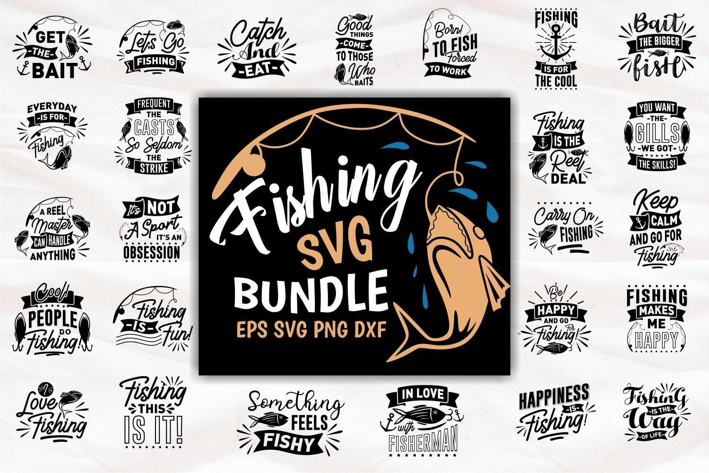 Fishing svg bundle.Quote Designs.