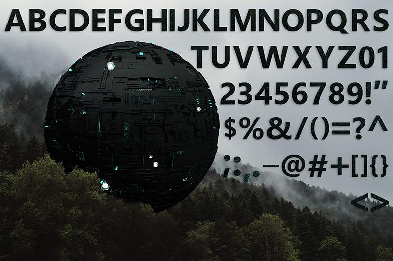 21 Color Fonts: FaeryDesign & PandoraDreams Render Fonts - Invasion 01