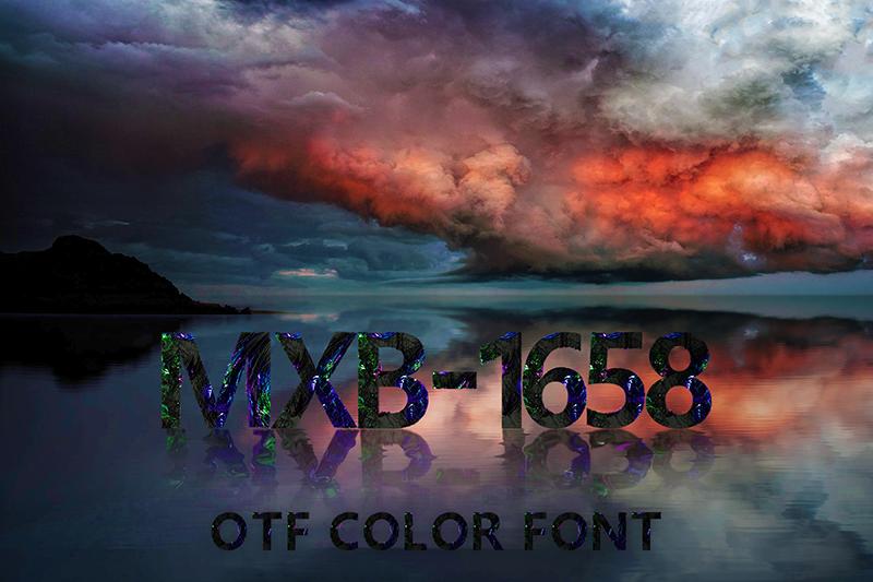 21 Color Fonts: FaeryDesign & PandoraDreams Render Fonts - MXB 1658 00
