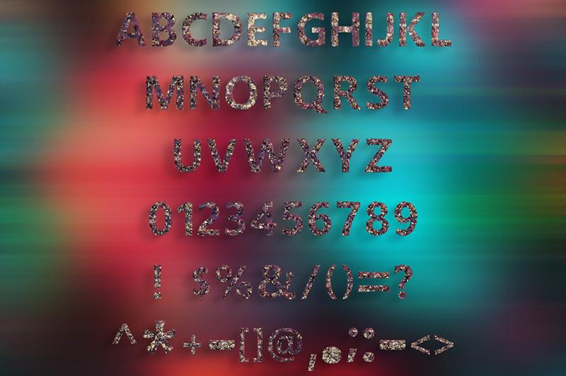 21 Color Fonts: FaeryDesign & PandoraDreams Render Fonts - Microchip 01