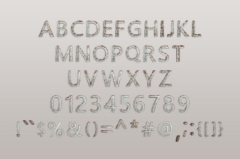 21 Color Fonts: FaeryDesign & PandoraDreams Render Fonts - Nano Tech 01