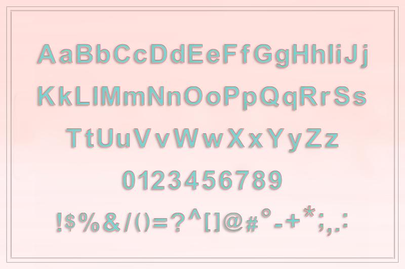 21 Color Fonts: FaeryDesign & PandoraDreams Render Fonts - Paper 01