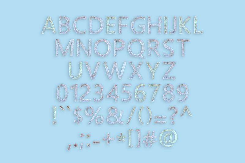 21 Color Fonts: FaeryDesign & PandoraDreams Render Fonts - PastelVirus 01