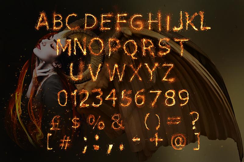 21 Color Fonts: FaeryDesign & PandoraDreams Render Fonts - Phoenix 01