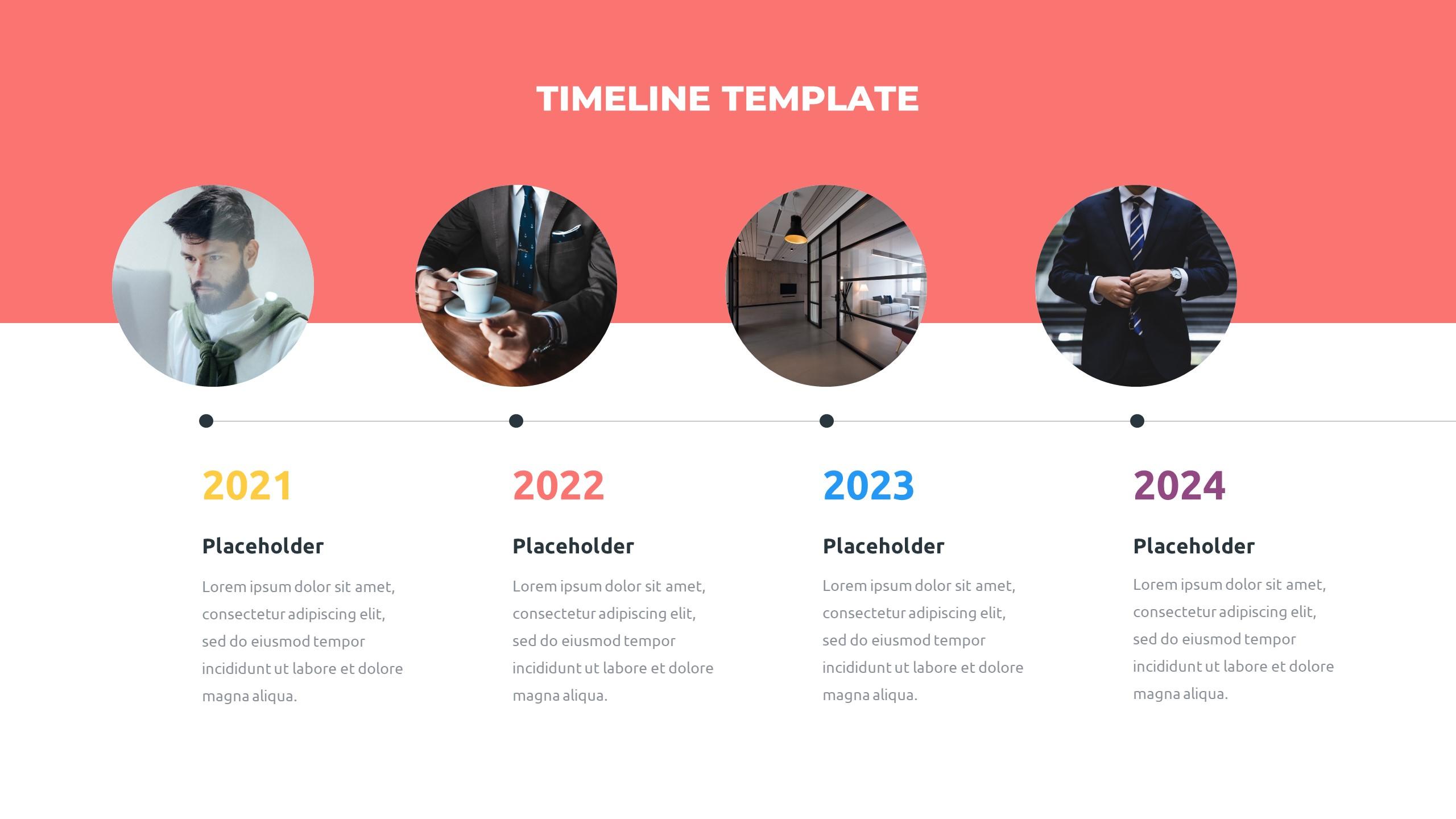 36 Timeline Presentation Templates: Powerpoint, Google Slides, Keynote - Slide11