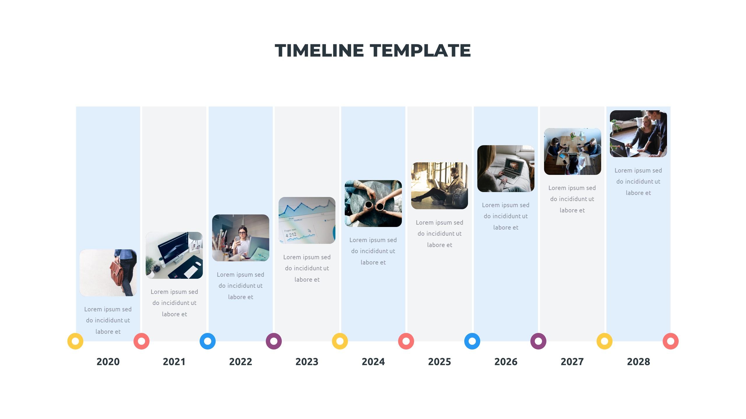 36 Timeline Presentation Templates: Powerpoint, Google Slides, Keynote - Slide12
