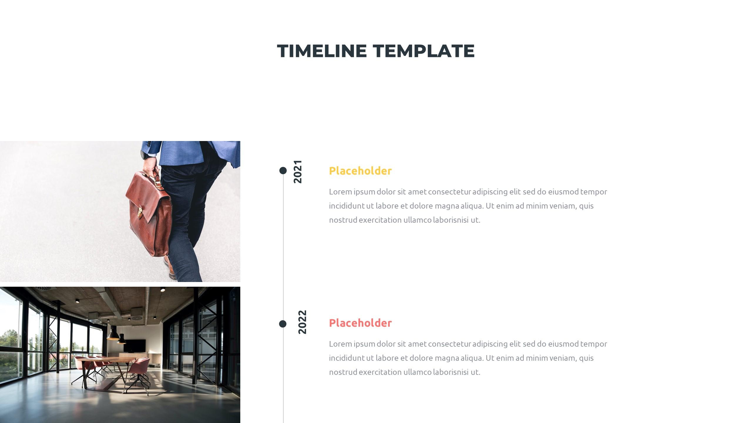 36 Timeline Presentation Templates: Powerpoint, Google Slides, Keynote - Slide13