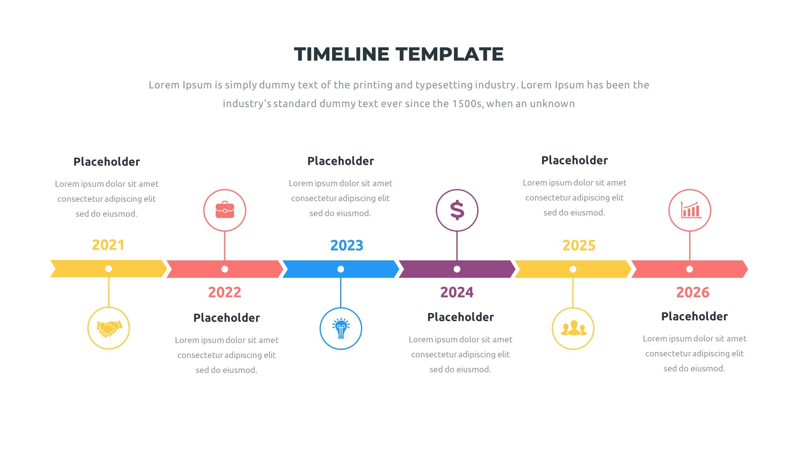 36 Timeline Presentation Templates: Powerpoint, Google Slides, Keynote - Slide15