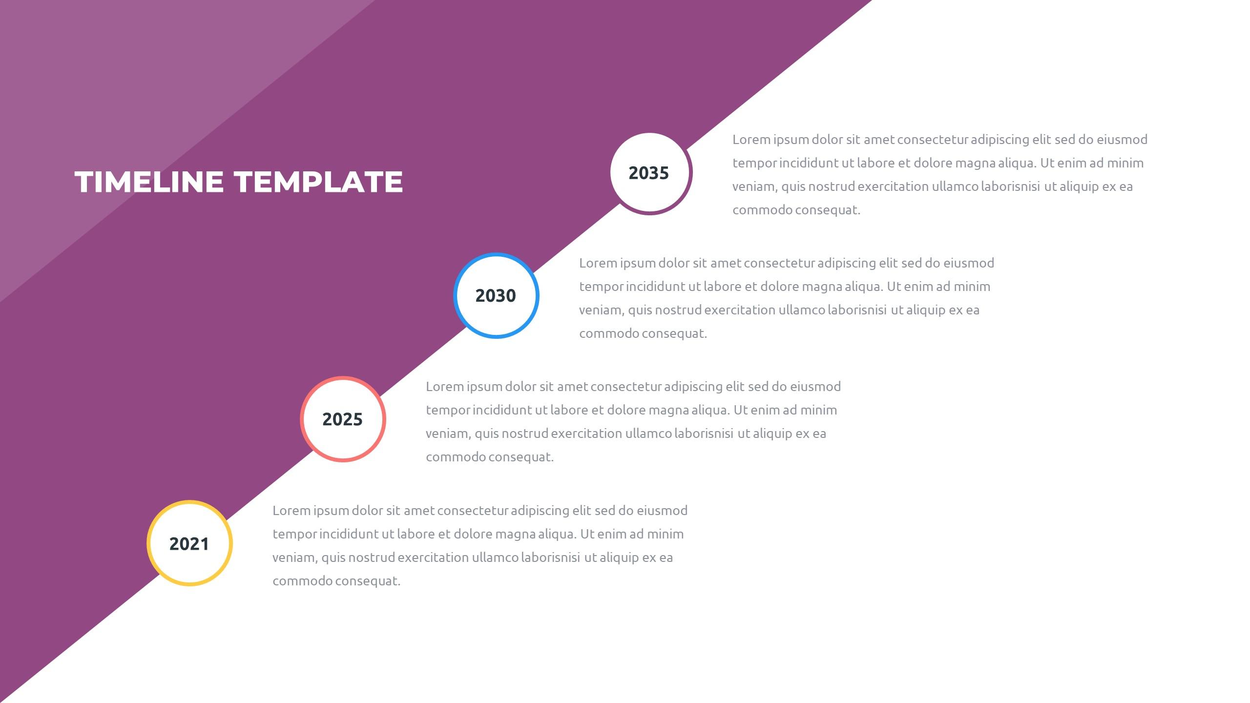 36 Timeline Presentation Templates: Powerpoint, Google Slides, Keynote - Slide16