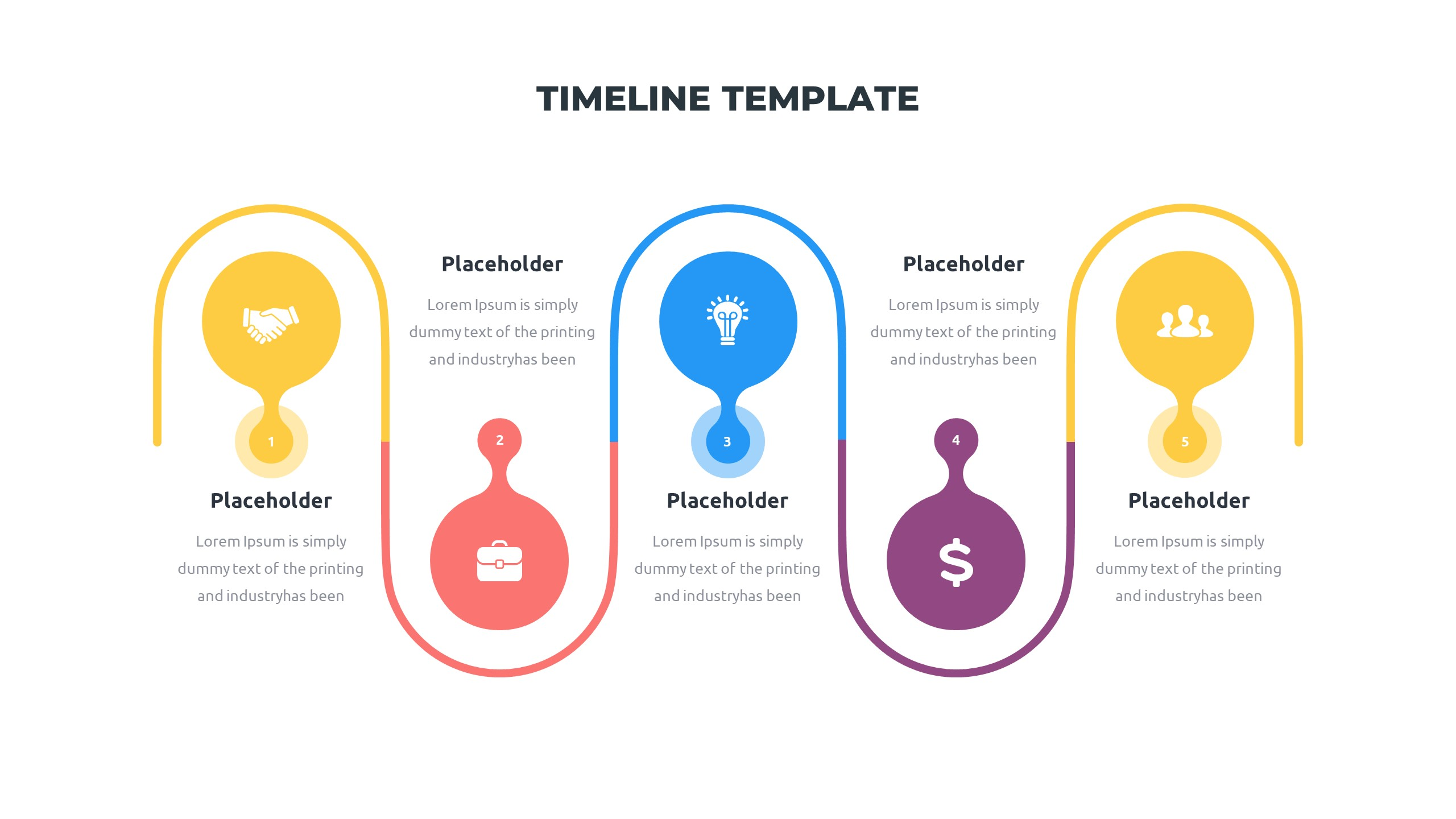 36 Timeline Presentation Templates: Powerpoint, Google Slides, Keynote - Slide19