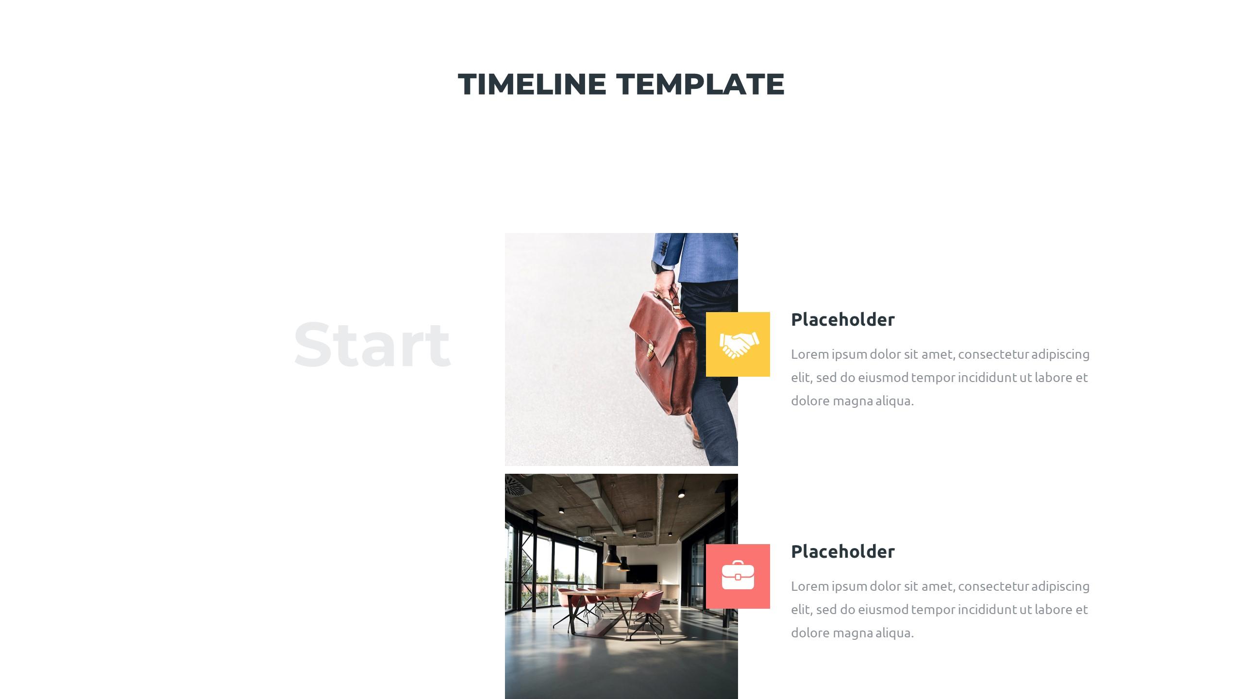 36 Timeline Presentation Templates: Powerpoint, Google Slides, Keynote - Slide2 1
