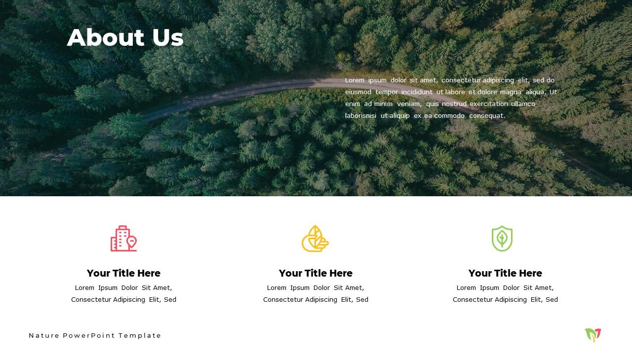 Nature  Powerpoint Template and Google Slide Theme - Bonus: Keynote Template - Slide2 2