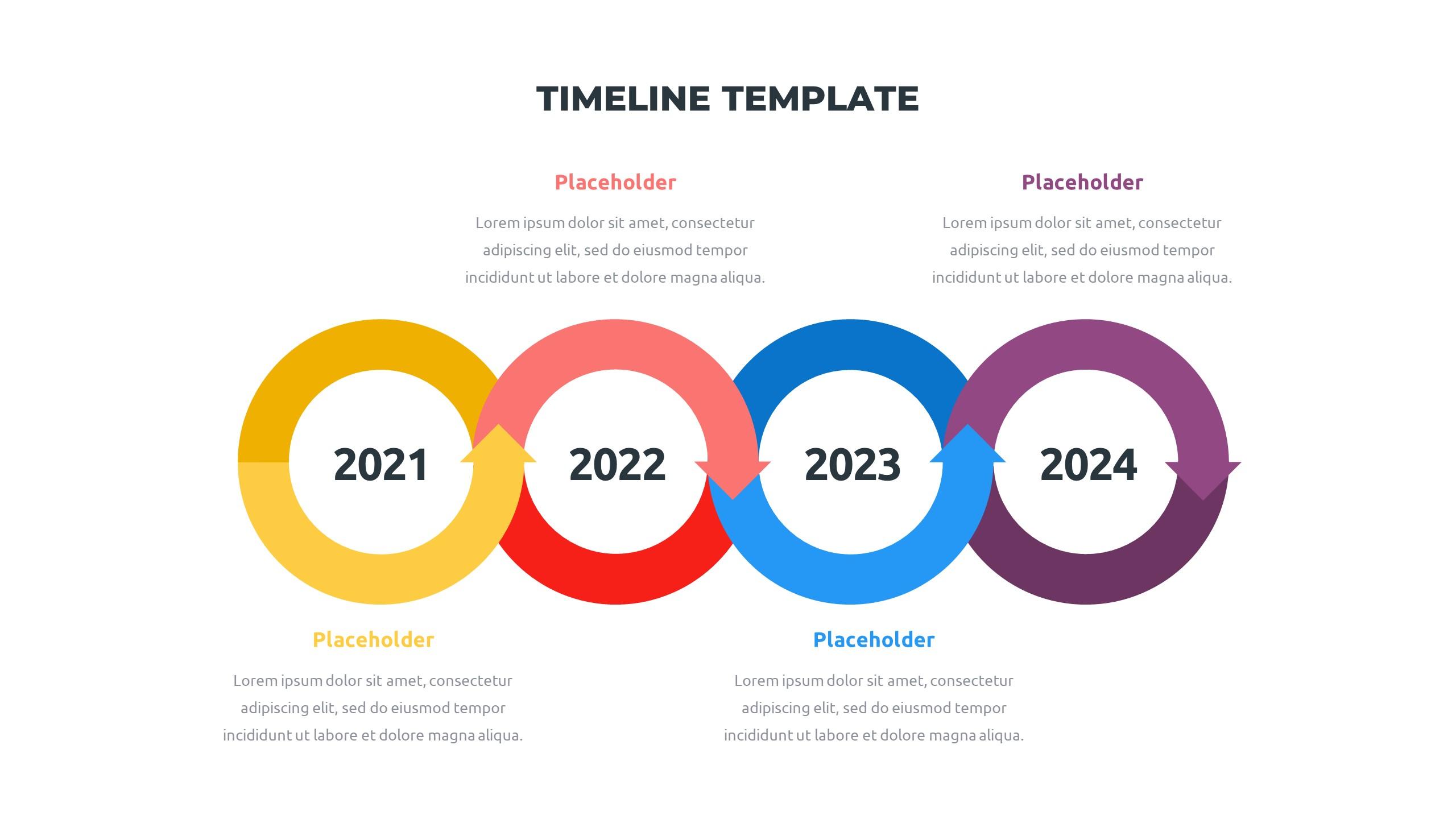 36 Timeline Presentation Templates: Powerpoint, Google Slides, Keynote - Slide21