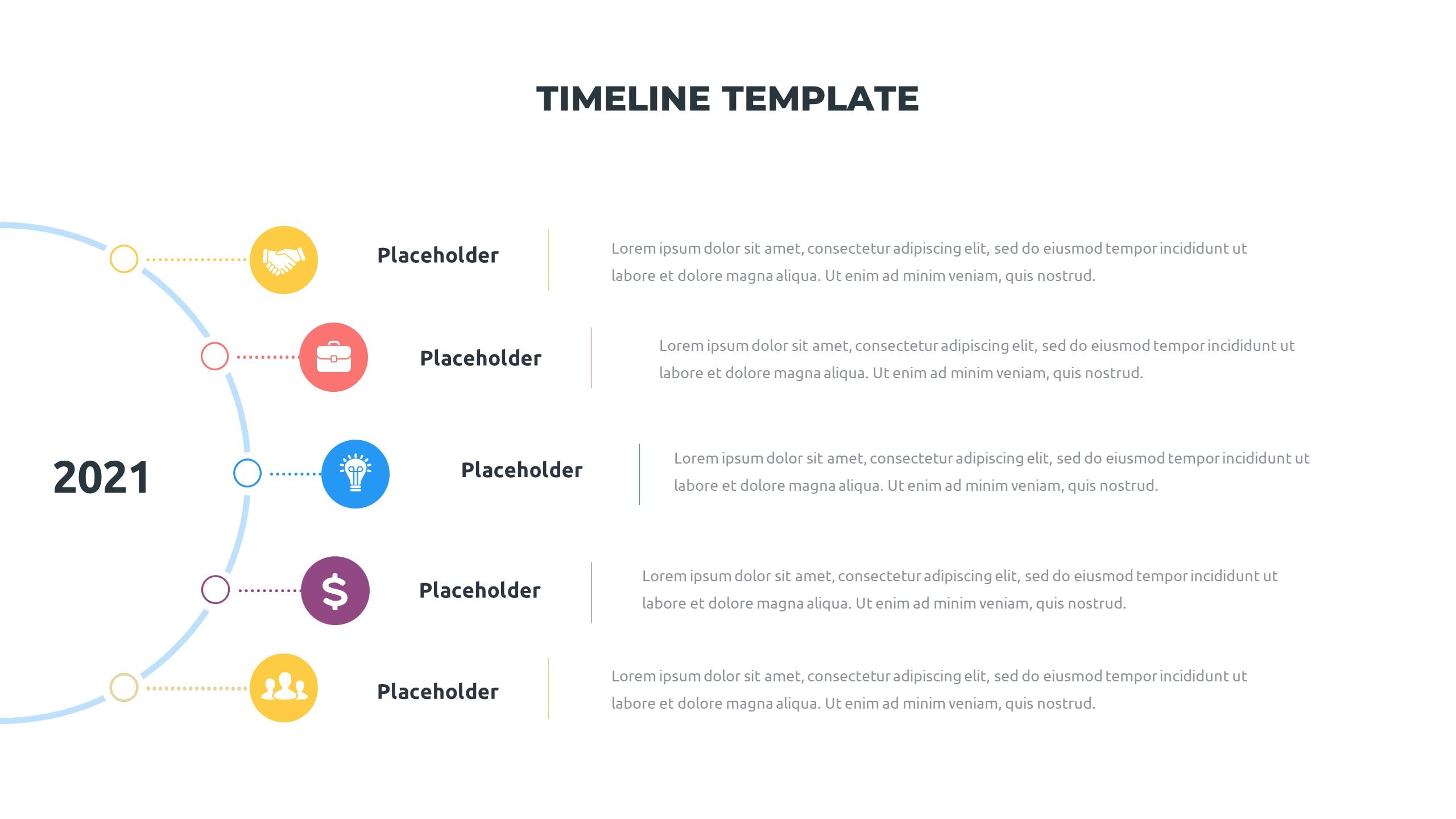 36 Timeline Presentation Templates: Powerpoint, Google Slides, Keynote - Slide22