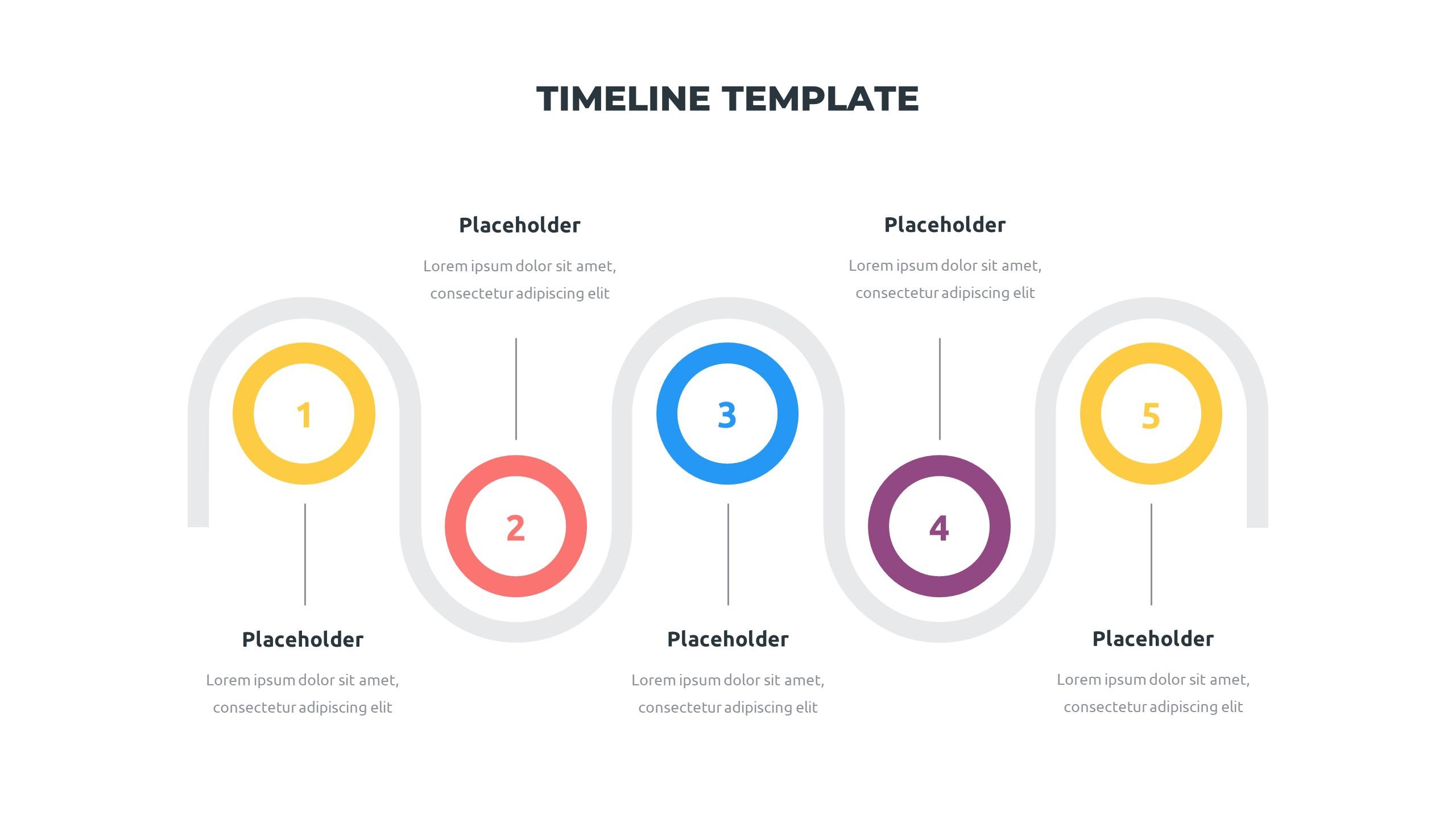 36 Timeline Presentation Templates: Powerpoint, Google Slides, Keynote - Slide24