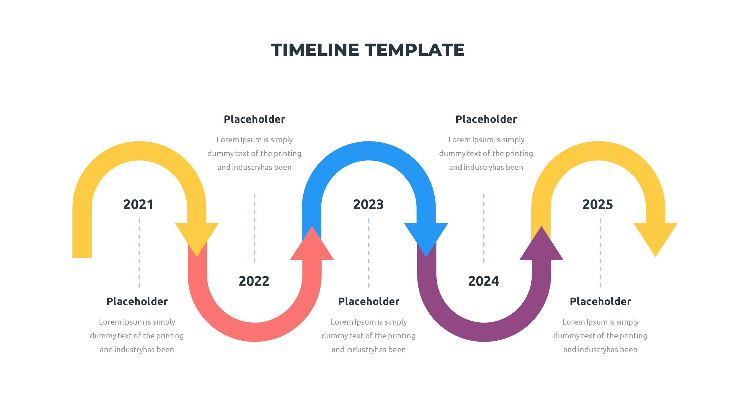 36 Timeline Presentation Templates: Powerpoint, Google Slides, Keynote - Slide25