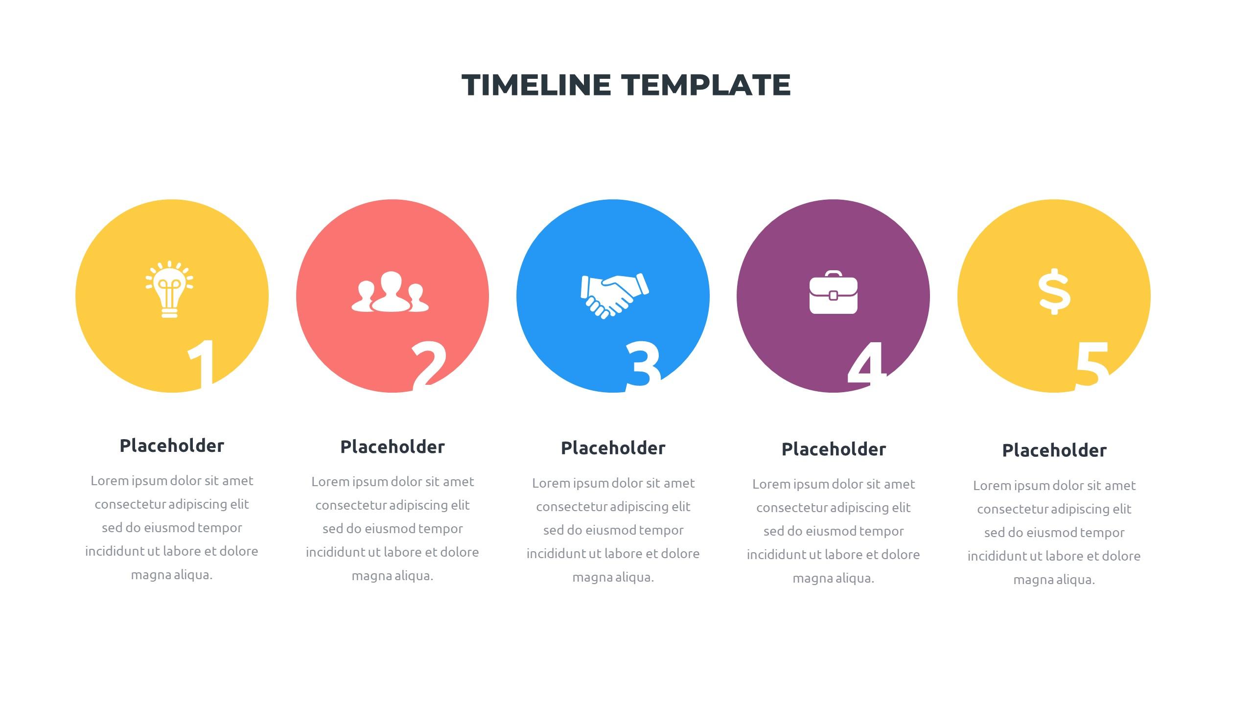 36 Timeline Presentation Templates: Powerpoint, Google Slides, Keynote - Slide26