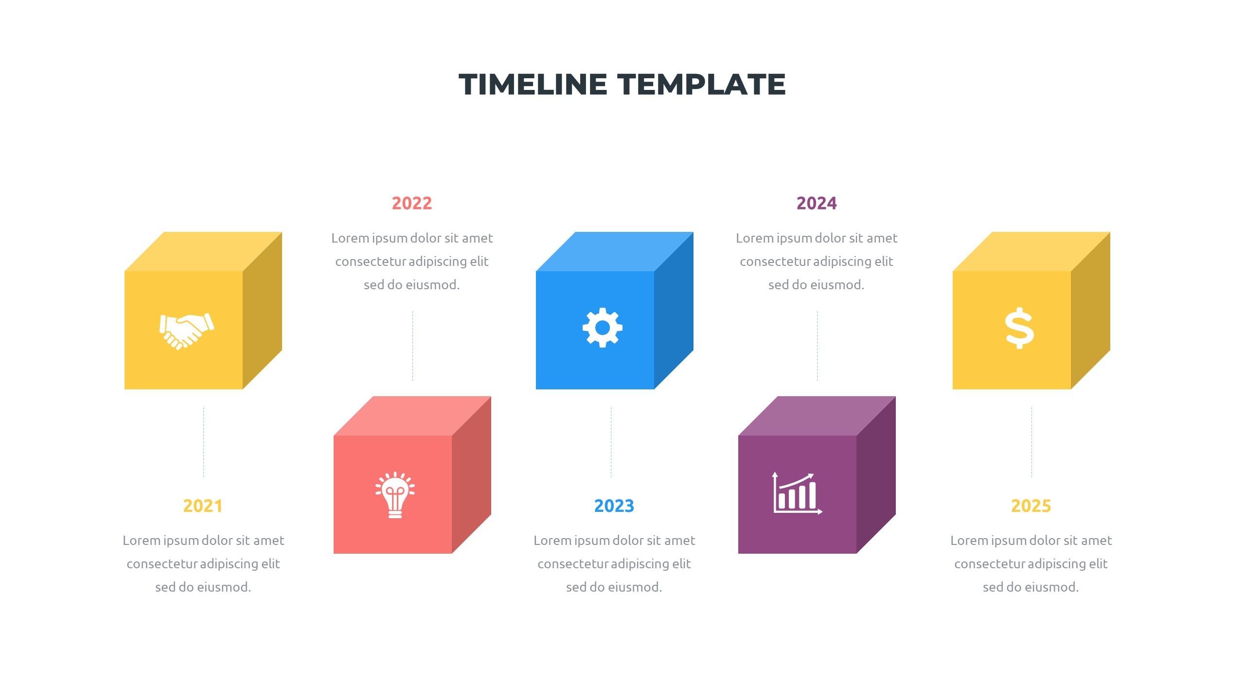 36 Timeline Presentation Templates: Powerpoint, Google Slides, Keynote - Slide28