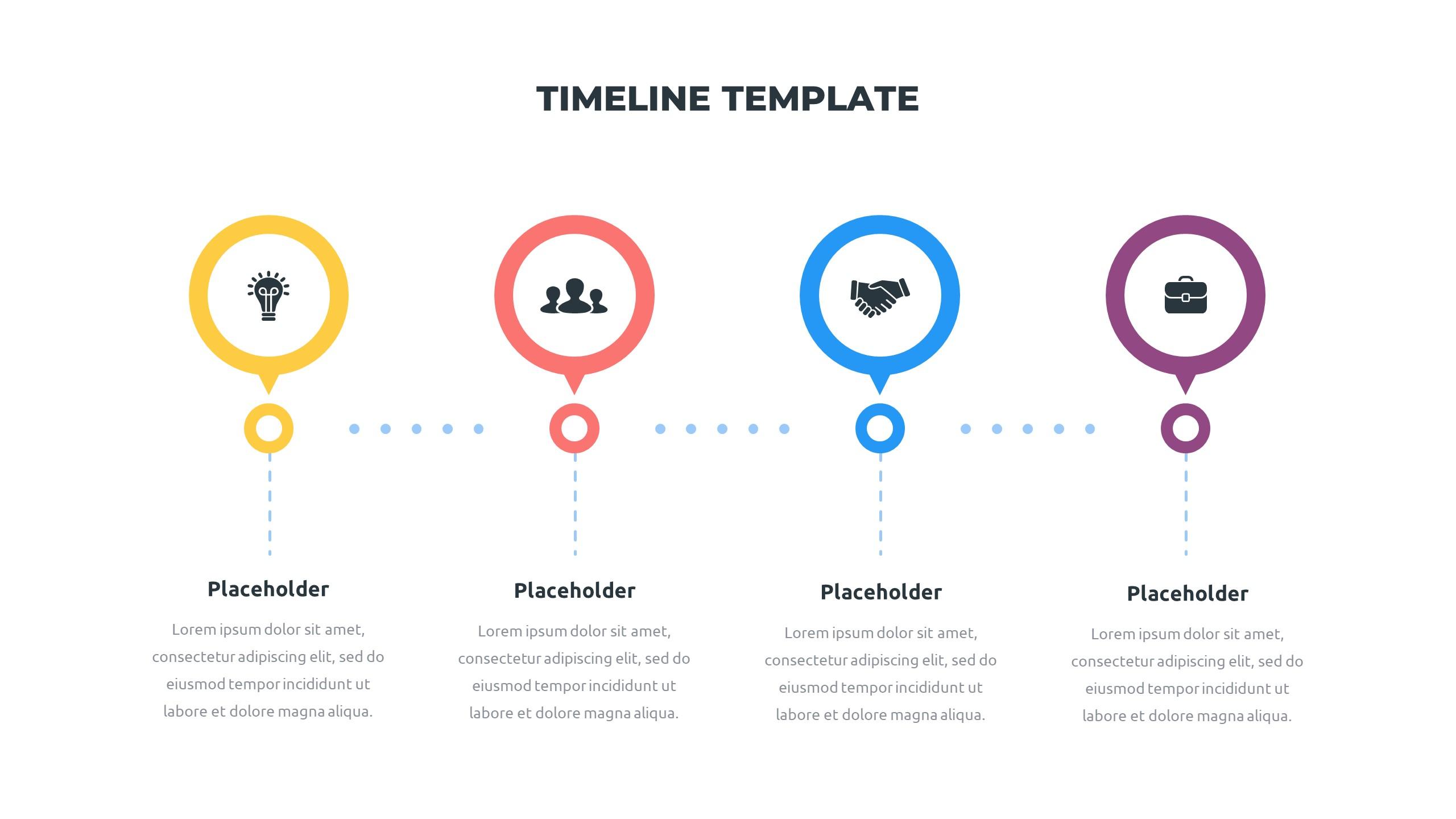 36 Timeline Presentation Templates: Powerpoint, Google Slides, Keynote - Slide29