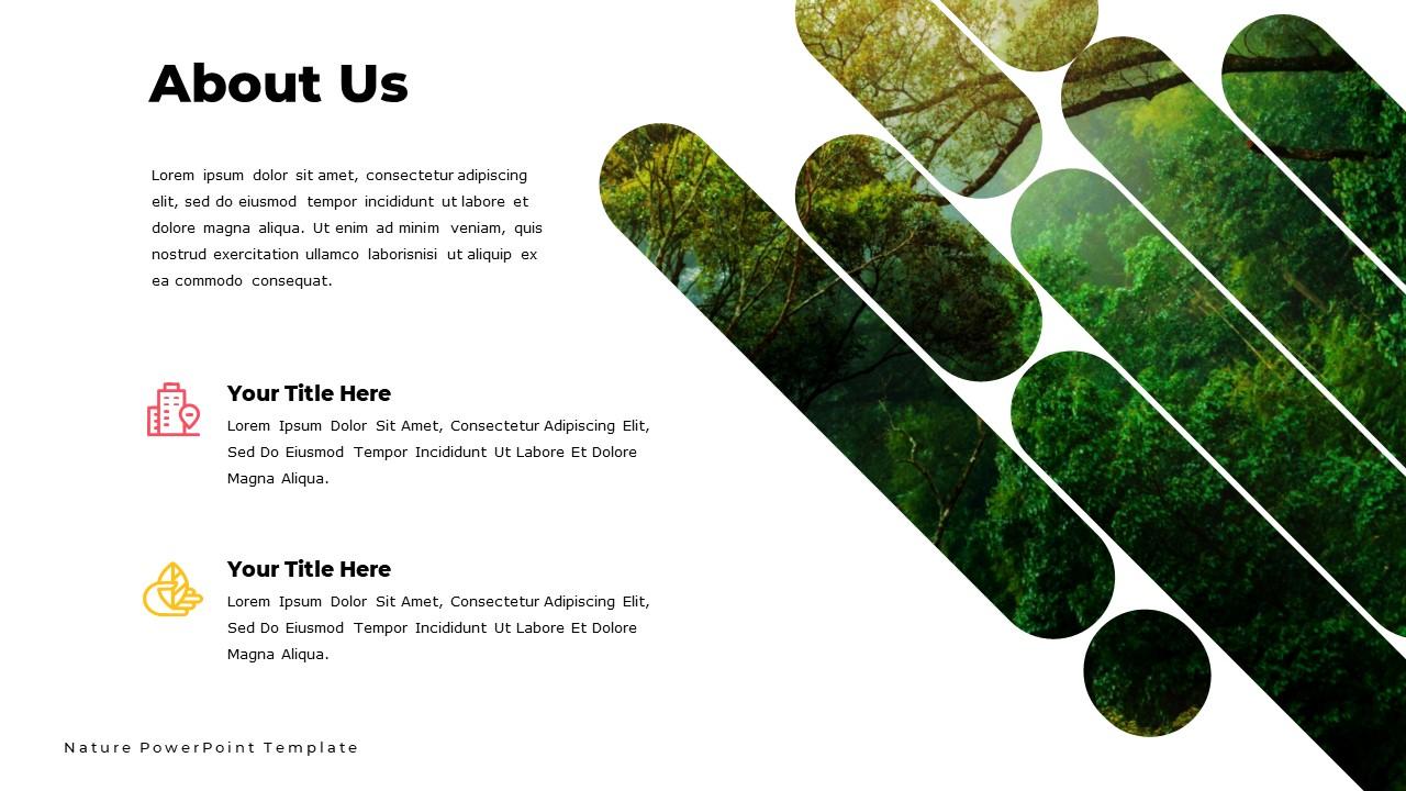 Nature  Powerpoint Template and Google Slide Theme - Bonus: Keynote Template - Slide3 2
