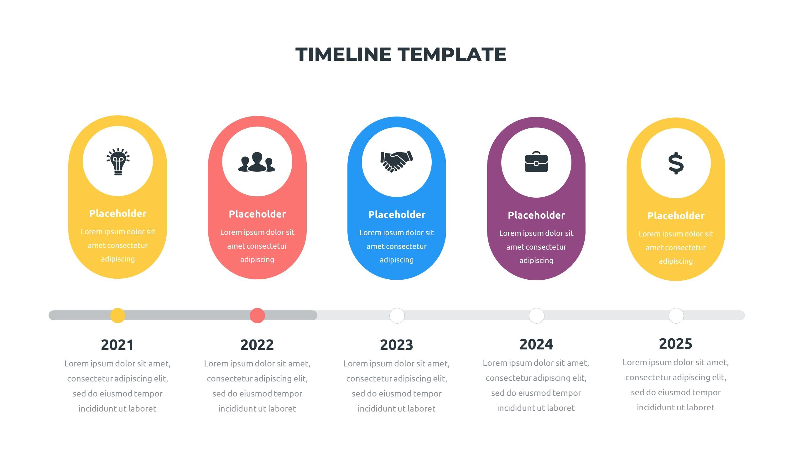36 Timeline Presentation Templates: Powerpoint, Google Slides, Keynote - Slide30