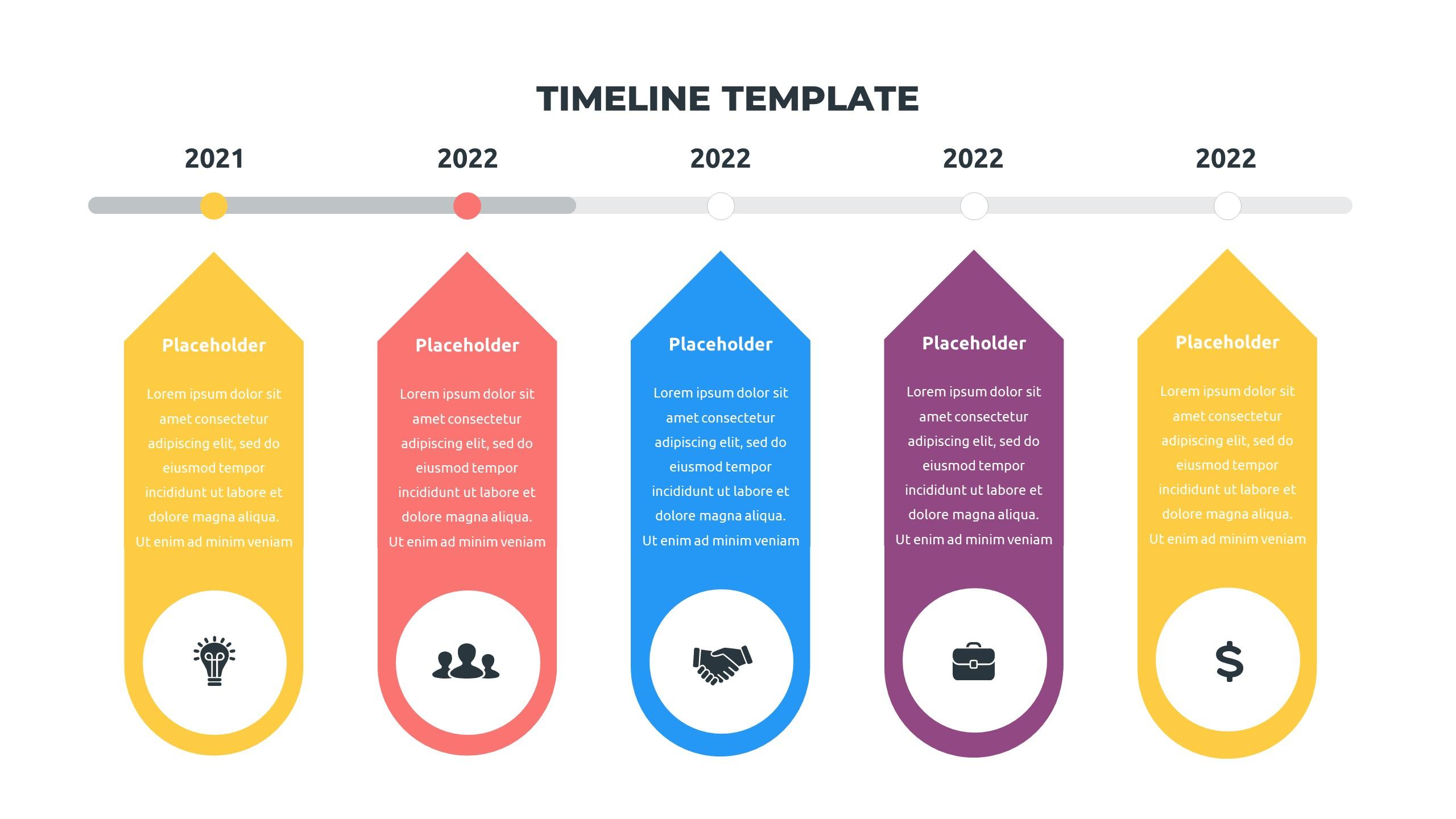 36 Timeline Presentation Templates: Powerpoint, Google Slides, Keynote - Slide31