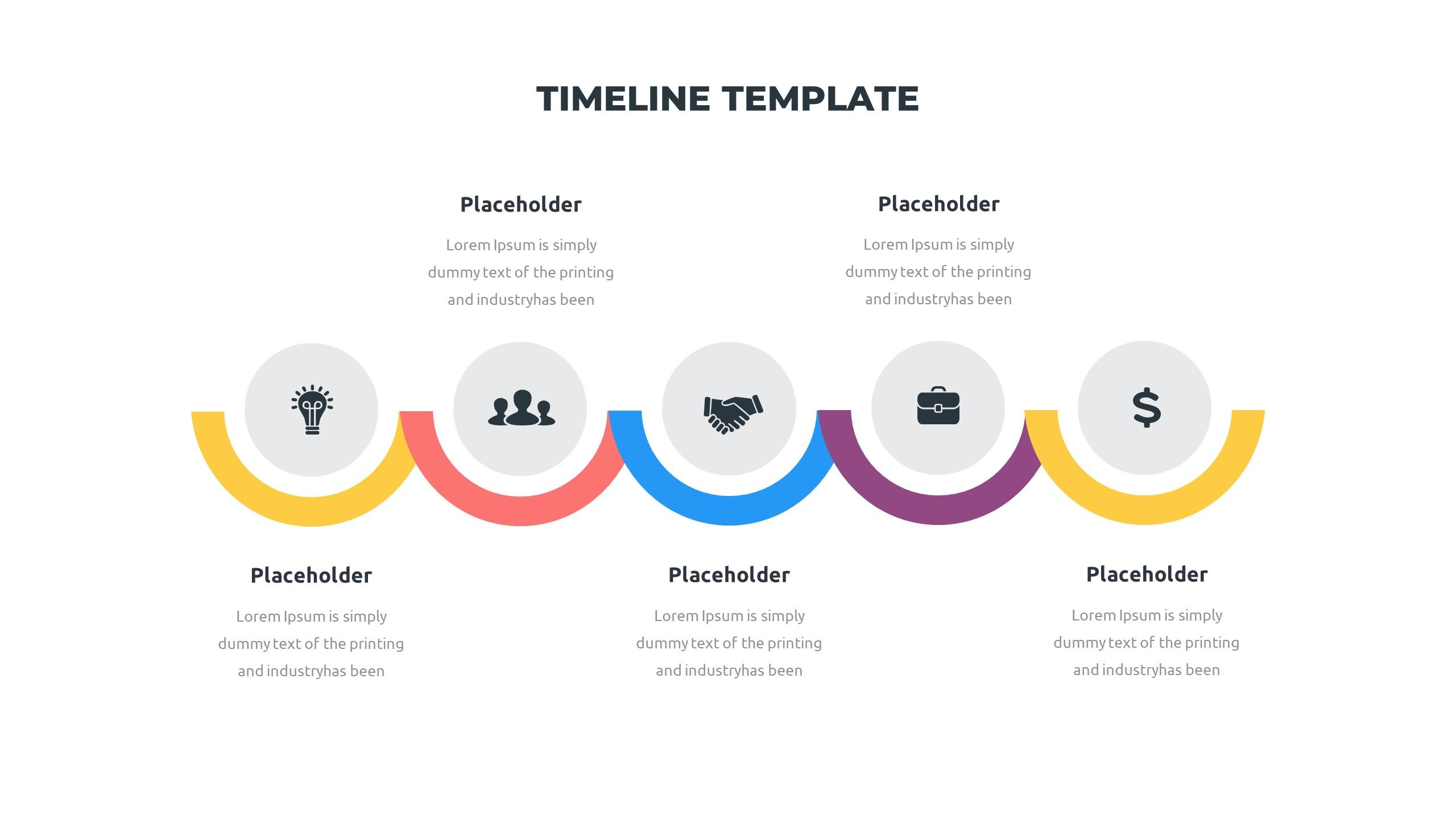 36 Timeline Presentation Templates: Powerpoint, Google Slides, Keynote - Slide32