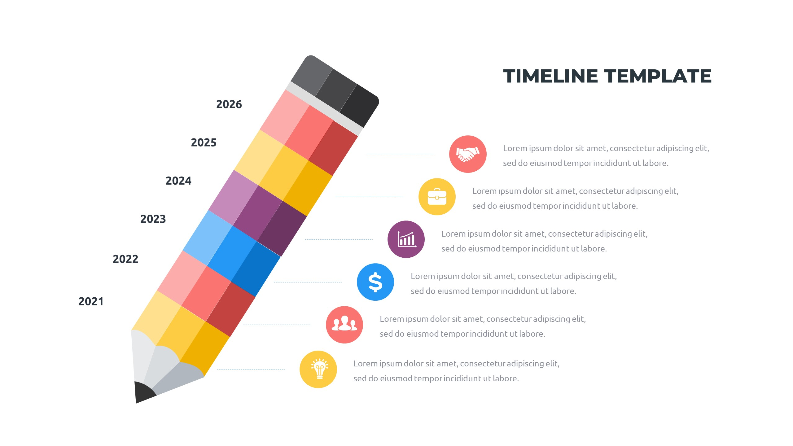 36 Timeline Presentation Templates: Powerpoint, Google Slides, Keynote - Slide33