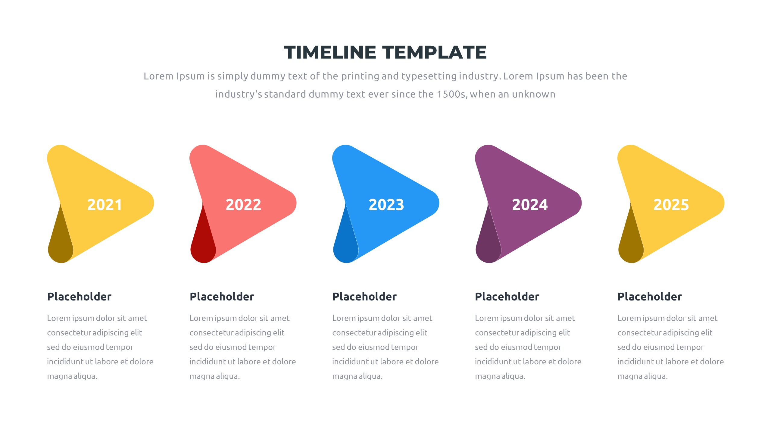 36 Timeline Presentation Templates: Powerpoint, Google Slides, Keynote - Slide36